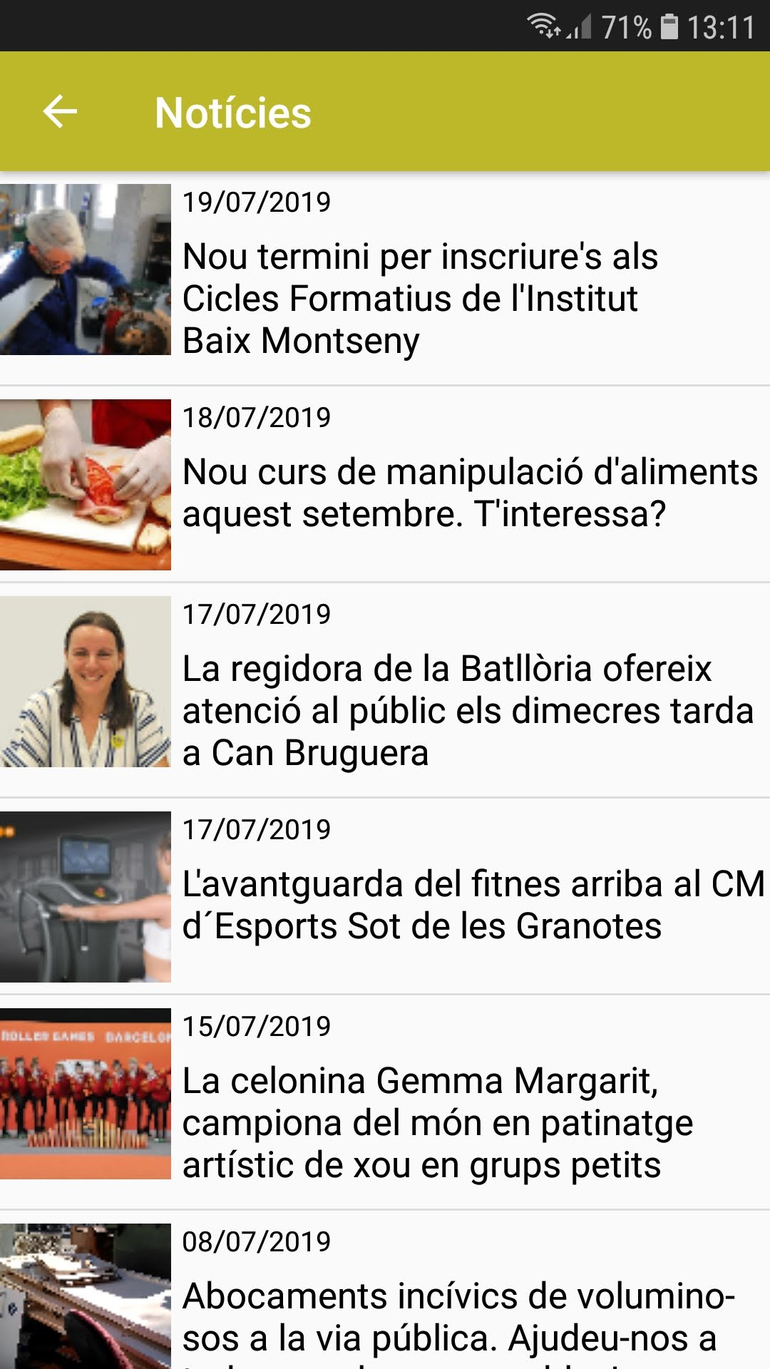 noticies appvisador city