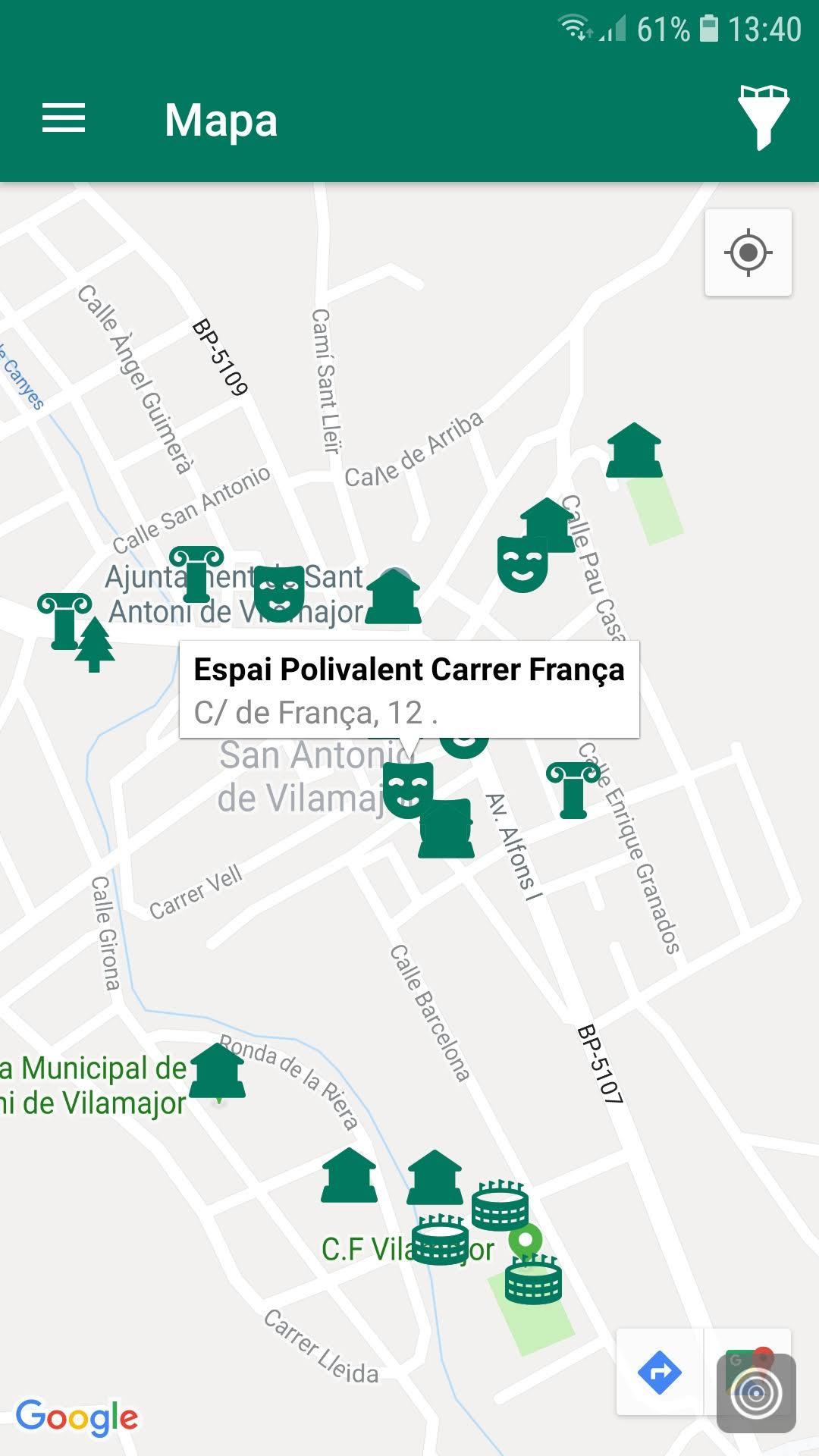 mapa appvisador city