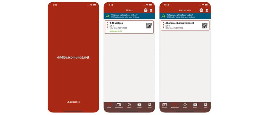app andbuscomunal Andorra