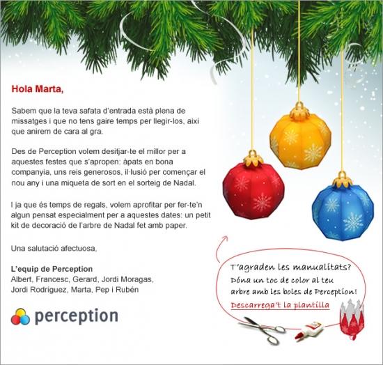Felicitació de Nadal 2010